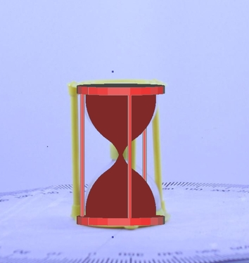 hourglass superimposed my