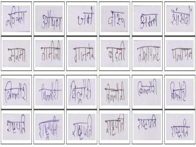 Word level Handwritten datasets for Indic scripts
